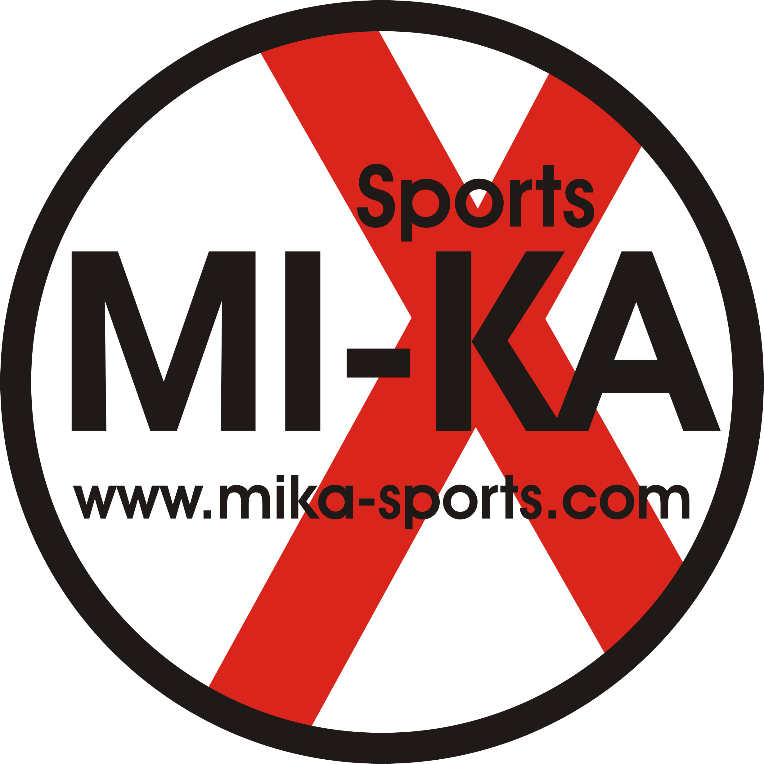 MI-KA Sports Logo Button