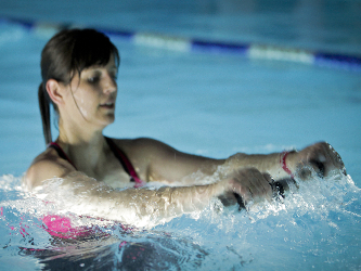 Aqua Power Training mit MI-KA Hanteln